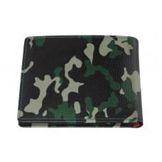 Ādas maks Zippo Bi-Fold Green camouflage