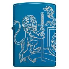 Zippo šķiltavas 49126 Medieval Coat of Arms Design