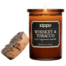Aromātiskā svece Zippo. Whiskey & Tobacco( Viskijs un Tabaka)